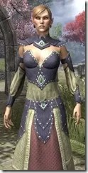 Ancestral Homage Formal Gown Dyed Close Front