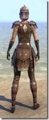 Colovian Uniform - Female Back