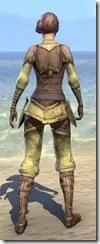 Dunmer Cultural Garb - Female Back