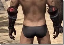 Yokudan Gauntlets - Male Back