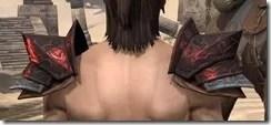 Yokudan Pauldron - Male Back