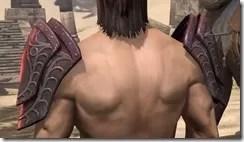 Apostle Pauldron - Male Back