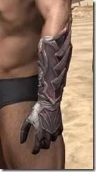 Ebonshadow Gauntlets - Male Side