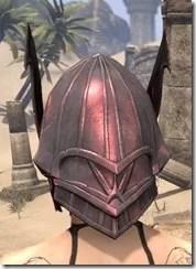 Ebonshadow Helm - Female Back