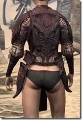 Hlaalu Cuirass - Female Back