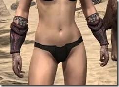 Hlaalu Gauntlets - Female Front