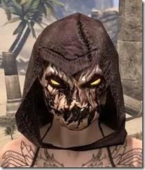Pumpkin Spectre Mask - Female Front
