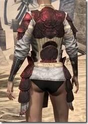 Telvanni Cuirass - Female Back