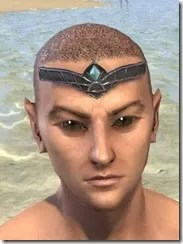 Alloy Circlet - Male Front