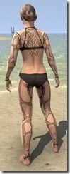 Clockwork Apostle Body Imprints - Female Back