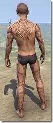 Clockwork Apostle Body Imprints - Male Back