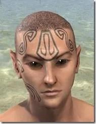 Clockwork Apostle Face Imprints - Male Front