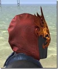 Flamebrow Fire Veil - Female Side