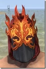 Flamebrow Fire Veil - Male Front