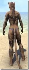 Inferno Ink Body Markings - Khajiit Back