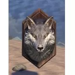 Wolf Head, Wall Mount