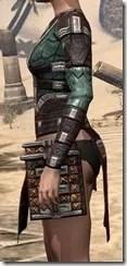 Argonian Dwarven Cuirass - Female Side
