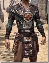 Argonian Dwarven Cuirass - Male Front