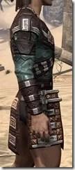 Argonian Dwarven Cuirass - Male Right