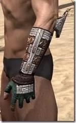 Argonian Dwarven Gauntlets - Male Side