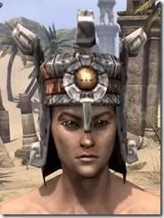 Argonian Dwarven Helm - Male Front