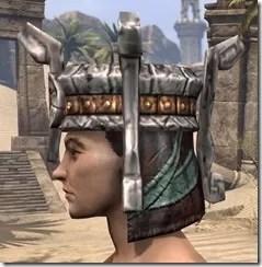 Argonian Dwarven Helm - Male Side