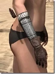 Argonian Iron Gauntlets - Female Right