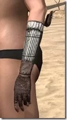 Argonian Iron Gauntlets - Female Side