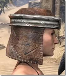 Argonian Iron Helm - Female Right