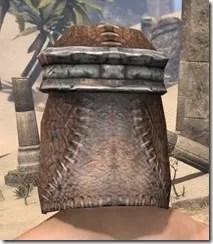 Argonian Iron Helm - Male Rear