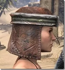 Argonian Steel Helm - Female Right