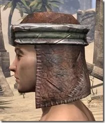 Argonian Steel Helm - Male Side