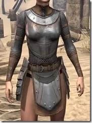 Breton Steel Cuirass - Female Front