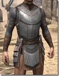 Breton Steel Cuirass - Male Front