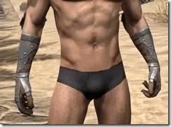 Breton Steel Gauntlets - Male Front