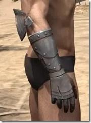 Breton Steel Gauntlets - Male Right