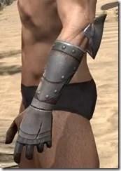 Breton Steel Gauntlets - Male Side