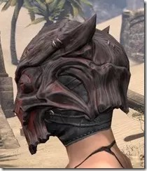 Dragon Priest Rubedite Helm - Female Side