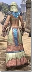 Fang Lair Ancestor Silk - Dyed Robe Rear