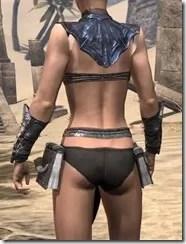Fang Lair Ancestor Silk Jerkin - Female Rear
