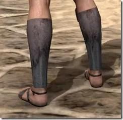 Fang Lair Ancestor Silk Shoes - Male Rear