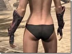 Fang Lair Rubedite Gauntlets - Female Rear