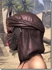 Fang Lair Rubedite Helm - Female Side