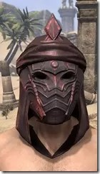 Fang Lair Rubedite Helm - Male Front