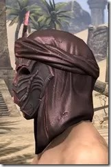 Fang Lair Rubedite Helm - Male Side
