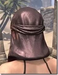 Fang Lair Rubedo Leather Helmet - Female Rear