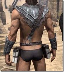 Fang Lair Rubedo Leather Jack - Male Rear