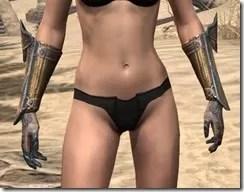 Orc Dwarven Gauntlets - Female Front
