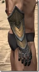 Orc Dwarven Gauntlets - Male Right
