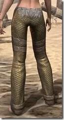 Orc Dwarven Greaves - Female Rear